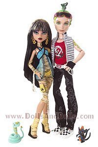 Set of two dolls Monster High